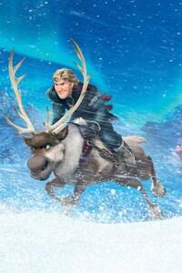 Frozen Movie Kristoff Elsa