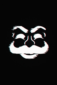 Fsociety Dark Logo 4k