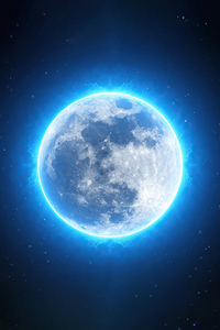 1440x2560 Full Bright Moon 4k