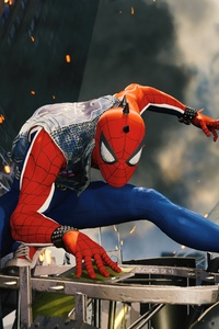 Funky Spiderman Ps4 4k