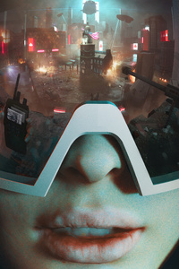 Futurist Gaming Scifi 5k