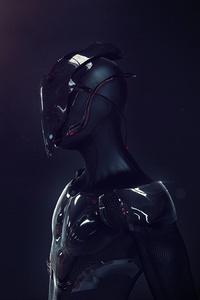 Futuristic Robot Soldier Armor