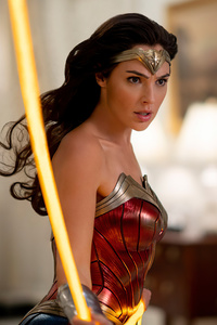 Gal Gadot In Wonder Woman 1984 Still 5k