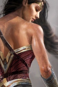 Gal Gadot Wonder Woman Artwork