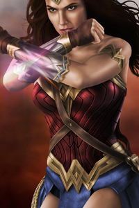 Gal Gadot Wonder Woman New Art