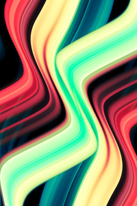 Galactic Wave Abstract 8k