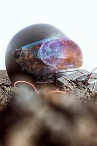 1440x2960 Galaxy Helmet