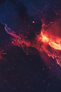 1080x1920 Galaxy Space Stars Universe Nebula 4k