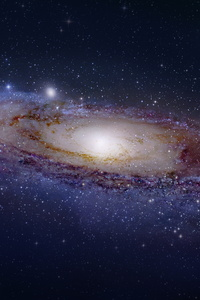 1280x2120 Galaxy Space Universe Andromeda Stars