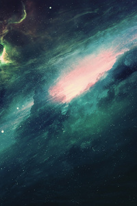 1280x2120 Galaxy Spacescapes 4k