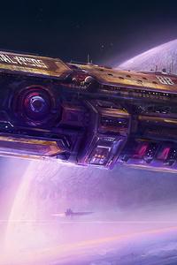 Galypsos Space Art 4k