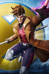 800x1280 Gambit Marvel Super War 4k
