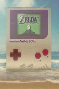 1125x2436 Game Boy The Legend Of Zelda