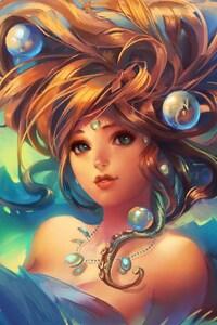 640x1136 Game Girl