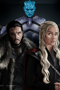 320x480 Game Of Thrones 4k Art