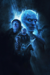 320x480 Game Of Thrones Fan Made Poster 4k
