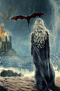 Game Of Thrones Khaleesi Art 4k