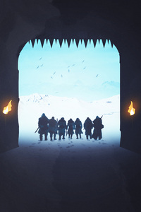 Game Of Thrones Night Watch The Wall