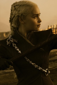 Game Of Thrones Season 7 Emilia Clarke As Daenerys Targaryen