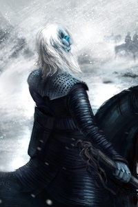Game Of Thrones White Walker Artwork