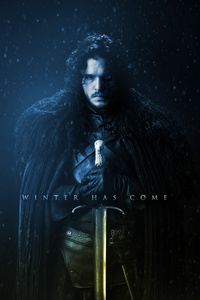 800x1280 Game Of Thrones Winter Has Come Artwork 4k