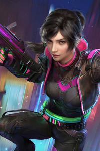 320x568 Game Pubg Girl 4k 2020