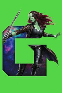 Gamora 5k Art