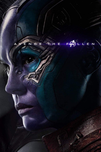 1080x2280 Gamora And Nebula In Avengers Endgame 2019