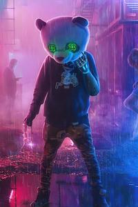 Gangster Panda 4k