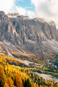 360x640 Gardena Pass In Italy 5k