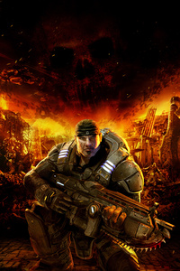 2160x3840 Gears Of War 5k