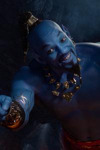 1080x1920 Genie In Aladdin 2019