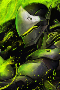 1280x2120 Genji Artwork