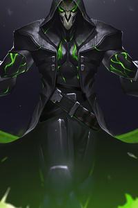 320x480 Genji Overwatch 2 4k
