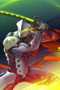 Genji Overwatch Art