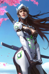 Genji Overwatch Girl