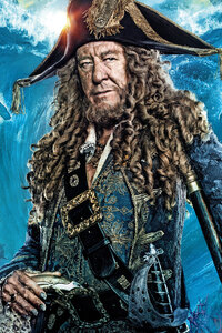 480x854 Geoffrey Rush In Pirates Of The Caribbean Dead Men Tell No Tales Movie
