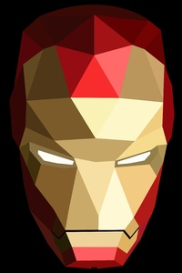 Geometric Iron Man