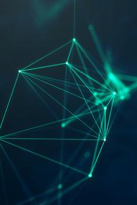 Geometry Cyberspace Digital Lines 5k