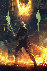 Geralt Vs Draug 2