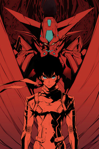 320x480 Getter Robo Devolution 4k