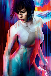 1125x2436 Ghost In The Shell 4k