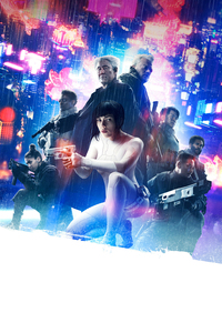 Ghost In The Shell 5k Poster
