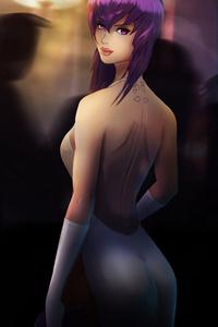 Ghost In The Shell Anime Girl Art 8k