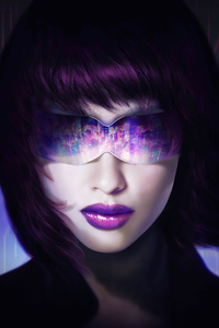 320x568 Ghost In The Shell Cyberpunk