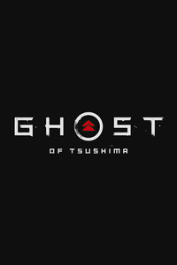 480x854 Ghost Of Tsushima Logo 4k