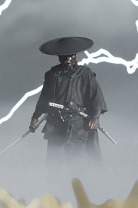 1080x2280 Ghost Of Tsushima The Duelist