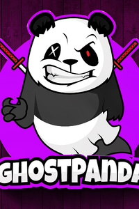 320x480 Ghost Panda 4k