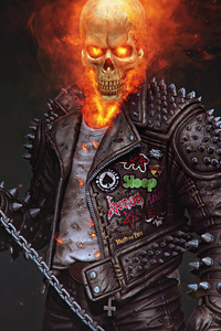 240x320 Ghost Rider 2020 4k Art