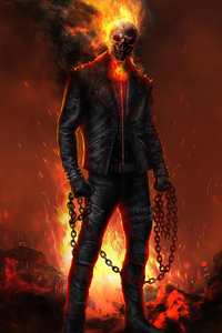 240x320 Ghost Rider 2020 Artwork 4k